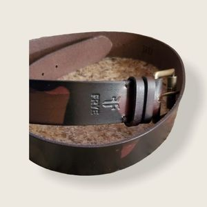 "NWT  Frye Genuine Leather Belt. ""Camo"""